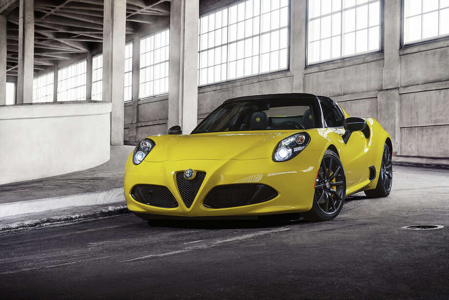 Alfa C Spider Unveiled Houston Chronicle - Alfa romeo 4c houston