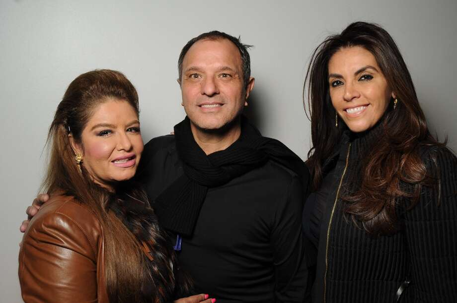 From left: Irma Brindis, designer Jose Sanchez and Raquel Vasquez Photo: Dave Rossman, For The Chronicle