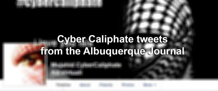 Here are photos from Cyber Caliphate's hack of the Albuquerque Journal in early January.