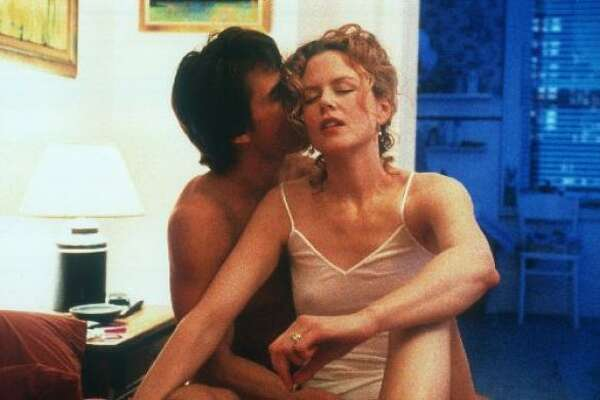 Kidman and Cruise starred in  Eyes Wide Shut , Stanley Kubrick's last film. The film opened to mixed reviews.