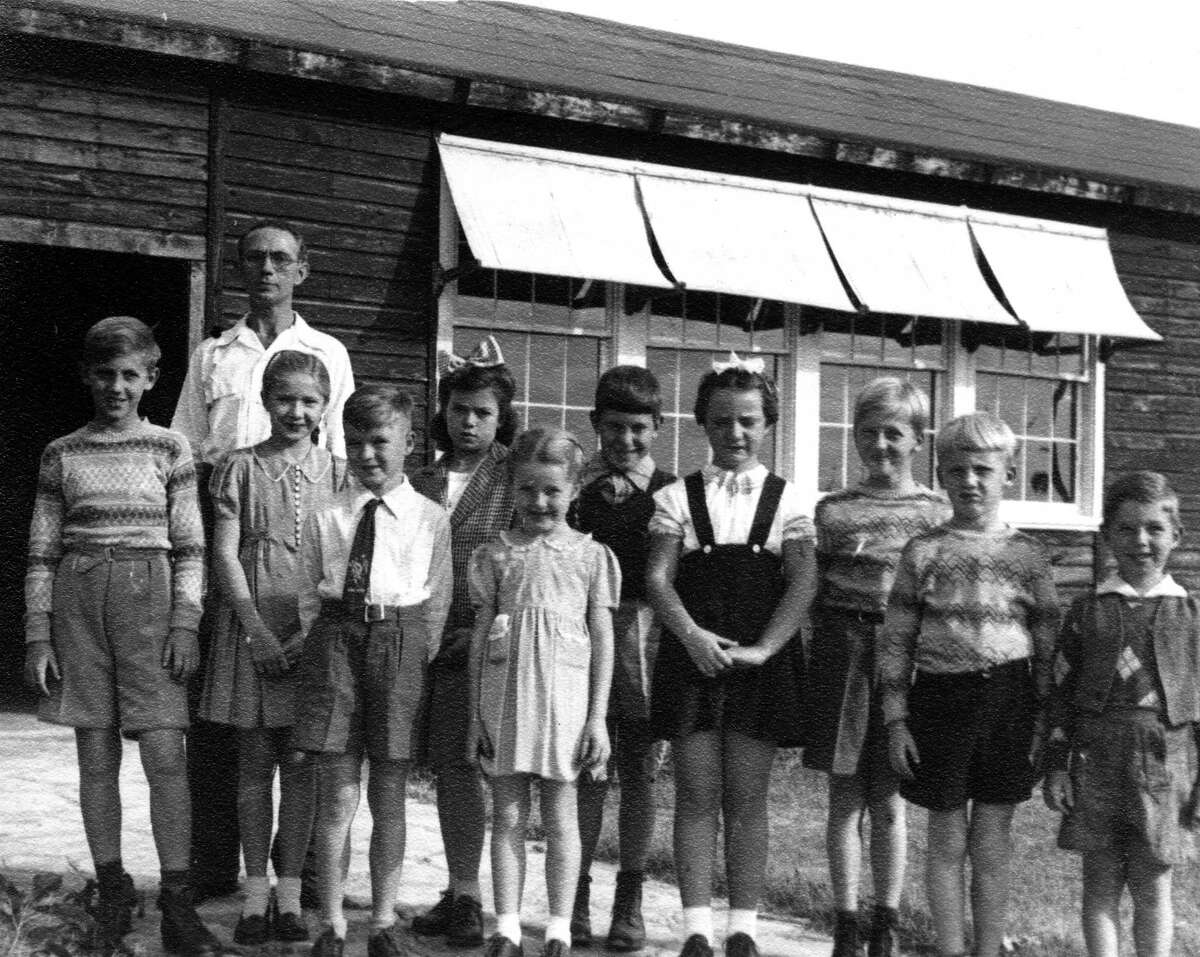 American-born, German schoolchildren at the Crystal City Enemy Detention Facility in the 1940s.