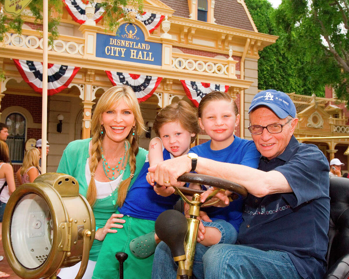 Larry King: The television host was 65 and 66 when his seventh wife, Shawn Southwick King, gave birth to their sons, Chance and Cannon.