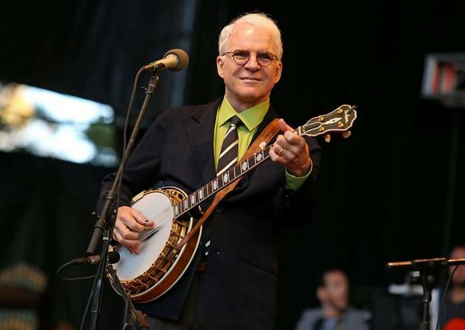 Steve Martin is one of Saturday Night Live's most memorable actors. But was he the funniest? Keep clicking for a look at the top 25 funniest of all time. Photo: Barry Brecheisen / AP