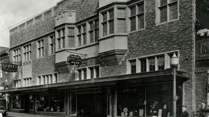 Vintage exterior circa early 1930s