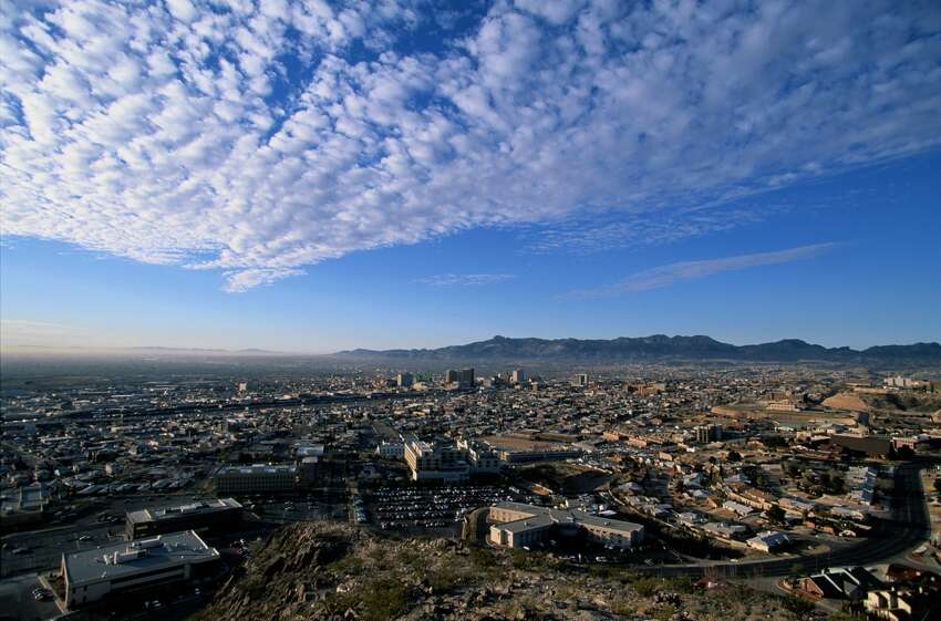 The City of El Paso as seen today.