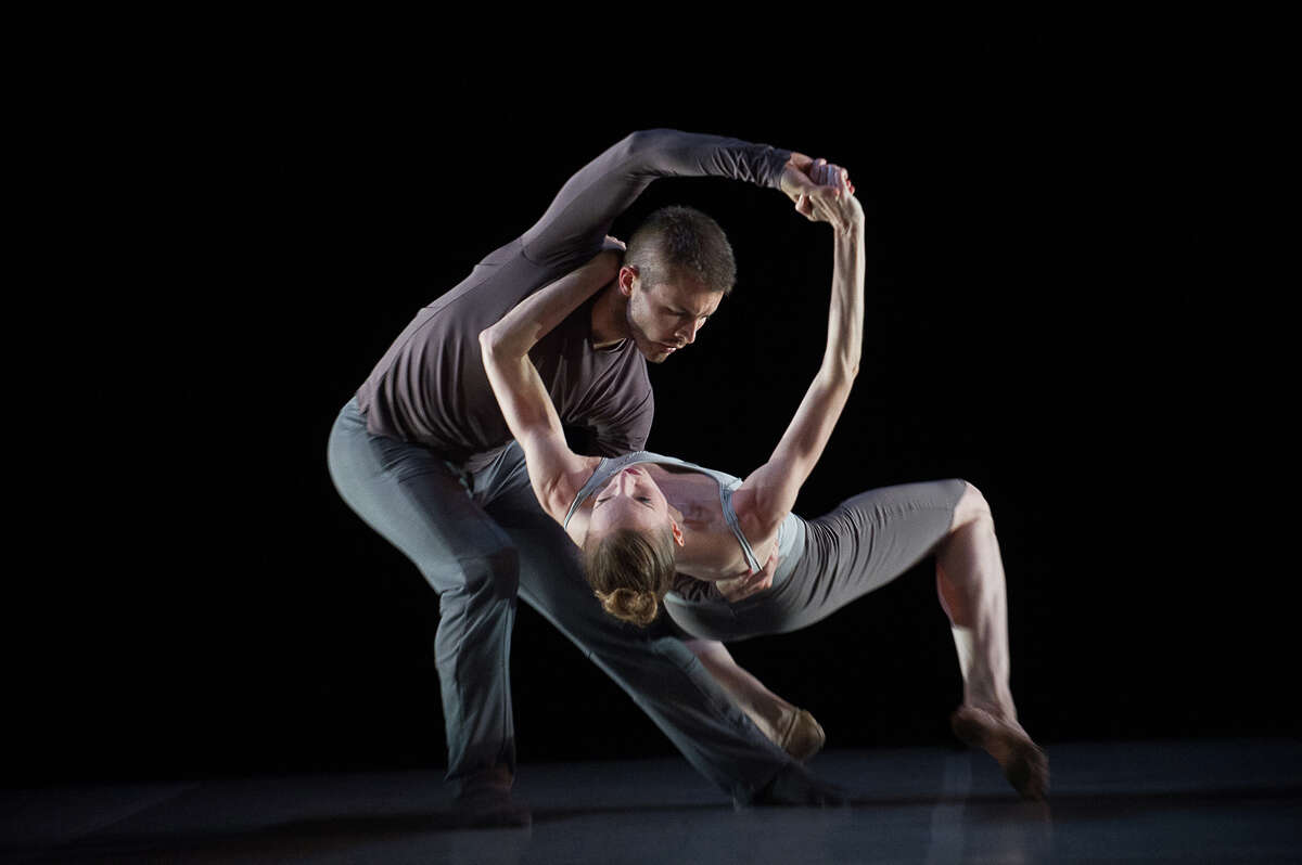 Caption: Joshua Beamish and Wendy Whelan in Beamish's duet,