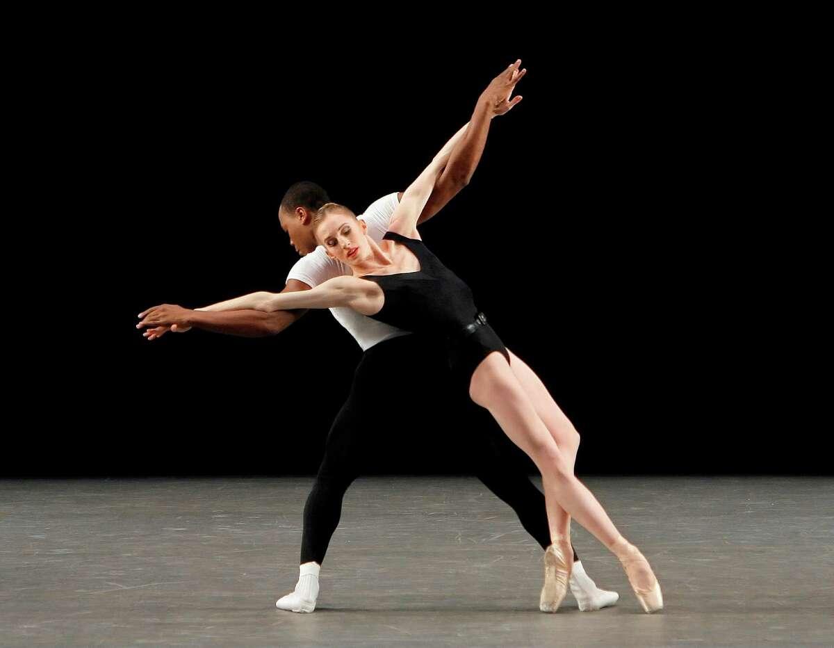 Wendy Whelan, with Albert Evans in George Balanchine's