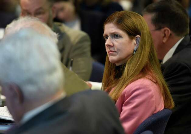 Elizabeth Berlin, executive deputy commissioner of the state education department and interim Commissioner  listens to discussions during the meeting of the Board of Regents which took place Monday morning Jan. 12, 2015 in Albany, N.Y.   (Skip Dickstein/Times Union) Photo: SKIP DICKSTEIN / 00030170A