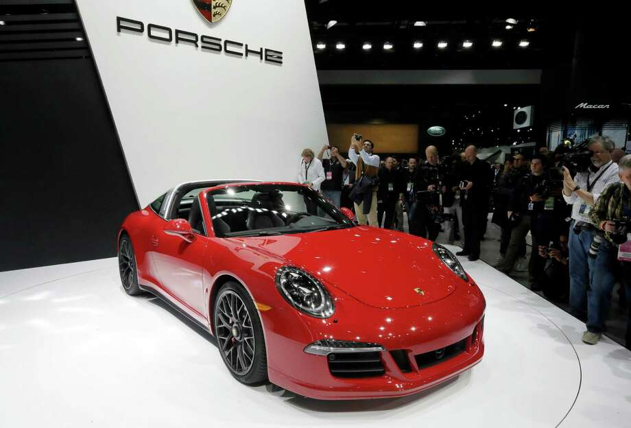 The Porsche 911 Targa GTS is unveiled at the North American International Auto Show, Monday, Jan. 12, 2015 in Detroit. Photo: Carlos Osorio, Associated Press / AP
