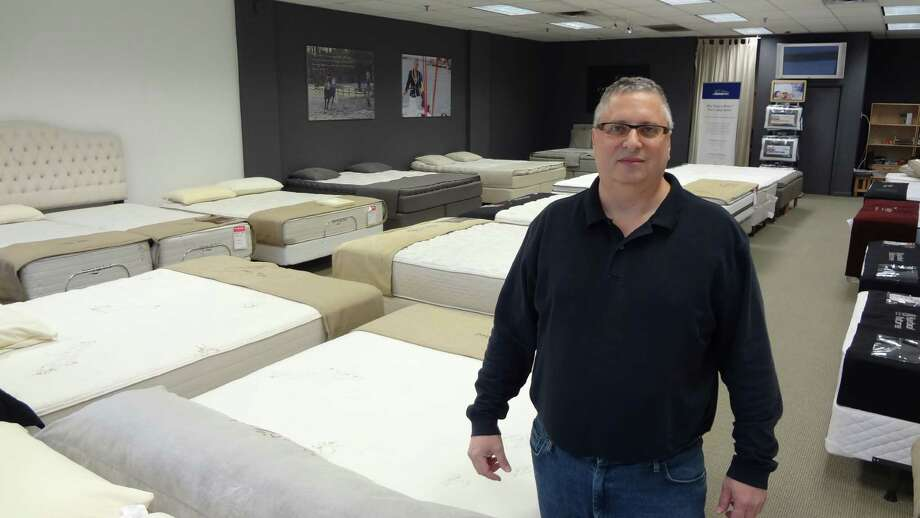Jeff Klein, at his Sleep Etc. store on High Ridge Road in Stamford, Conn., on Monday, Jan. 12, 2015, said he is  awaiting details of a $9 fee for mattress sales that kicks into effect in May. Photo: Alexander Soule/Staff Photograph / Stamford Advocate