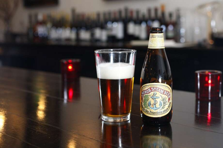Anchor Brewery's Steam beer turns 120 years old in 2016. Photo: Sean Culligan, The Chronicle