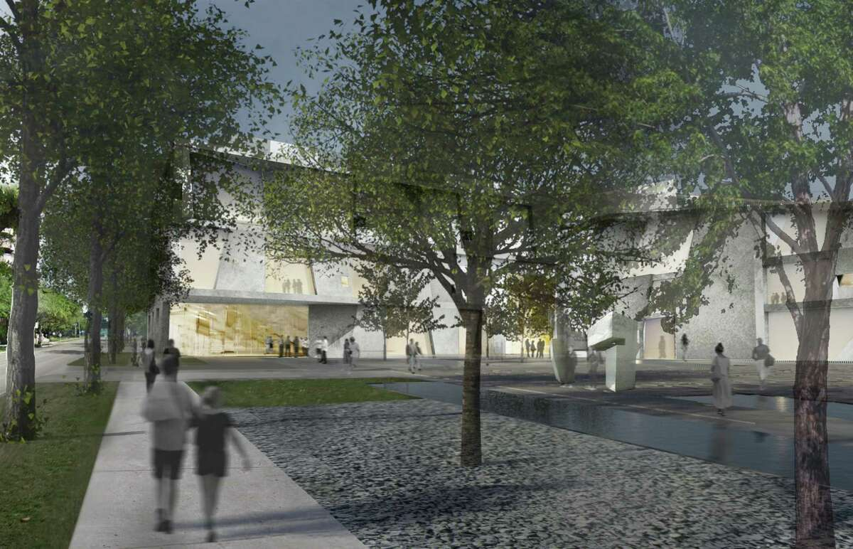 The Glassell School of Art and Brown Foundation, Inc. Plaza are part of the planned MFAH expansion announced Jan. 15. The expansion will dramatically increase pedestrian amenities in the Museum District.