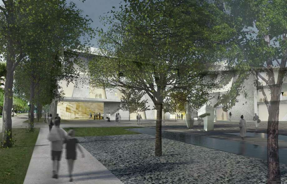 The Glassell School of Art and Brown Foundation, Inc. Plaza are part of the planned MFAH expansion announced Jan. 15. The expansion will dramatically increase pedestrian amenities in the Museum District. Photo: Steven Holl Architects