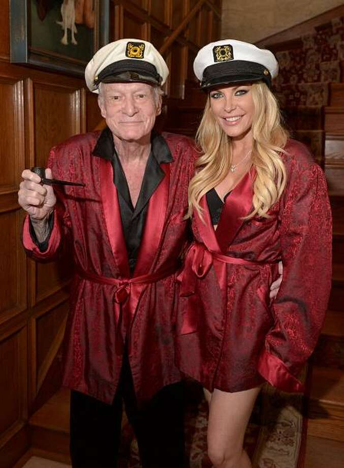Hugh Hefner will turn 89 in 2015. He and Crystal Hefner, 28,  married in 2012. Photo: Charley Gallay, Getty Images For Playboy / 2014 Getty Images