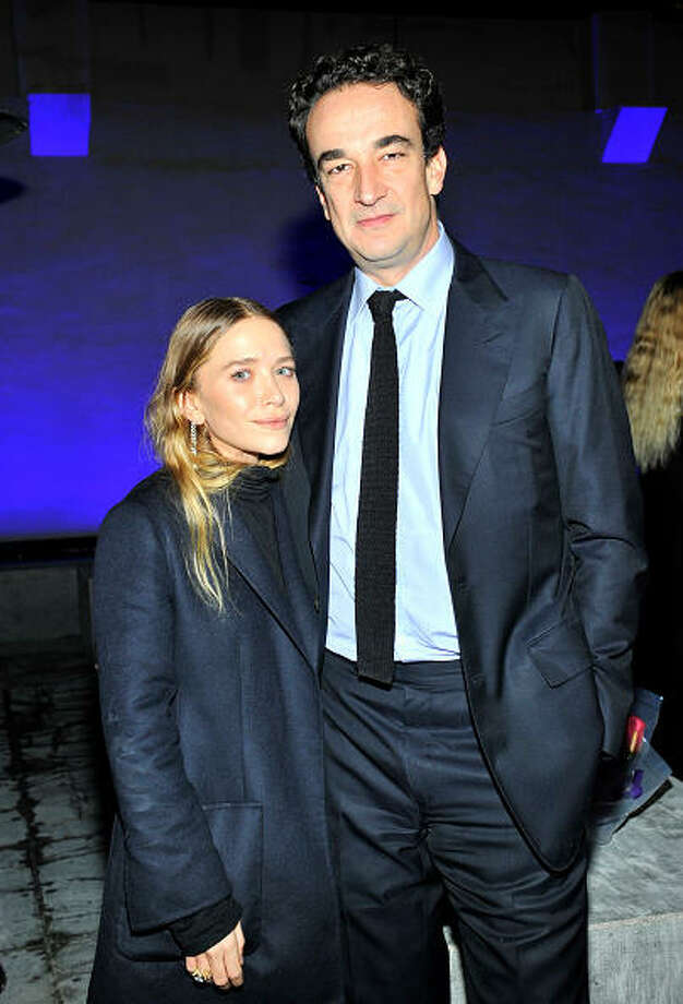 Actress Mary-Kate Olsen, 28, has been with Olivier Sarkozy, 45, since 2012. He is the brother of former French president Nicolas Sarkozy. Photo: Donato Sardella, 2014 Donato Sardella / 2014 Donato Sardella