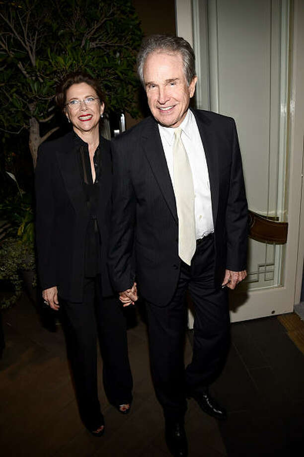 Actors Annette Bening, 56, and Warren Beatty, 77, have been married since 1992. Photo: Michael Buckner, Getty Images For ELLE / 2014 Getty Images