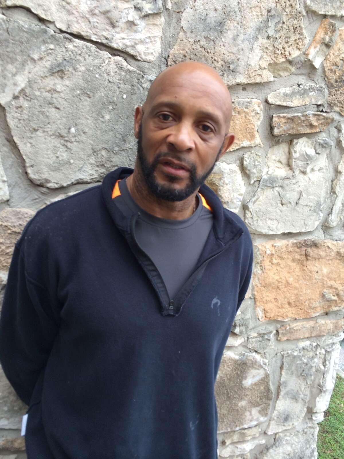 Former San Antonio Spurs guard Alvin Robertson after an arrest. Robertson then 52, reportedly cut off his GPS monitor that he was required to wear after being released from jail on his 2010 human trafficking charge.