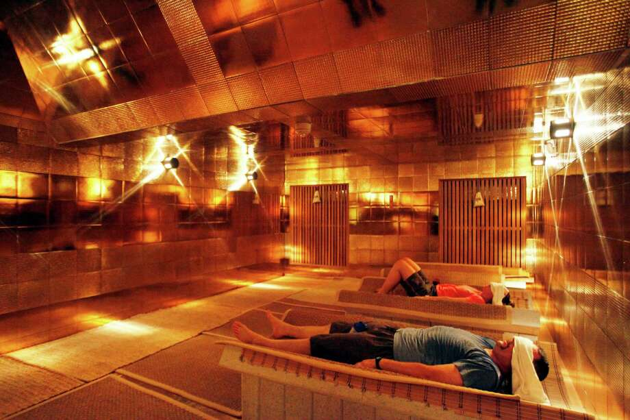 CARROLLTON: Spa Castle, at a massive 140,000 square feet, is the Disney World of Texas spas. Don't miss the Golden Pyramid dry sauna; it's lined in real gold. Photo: Ben Torres / Spa Castle