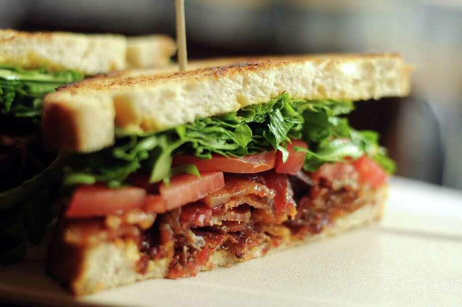 The BLT sandwich at Tout Suite Photo: Dave Rossman, Freelance / © 2014 Dave Rossman
