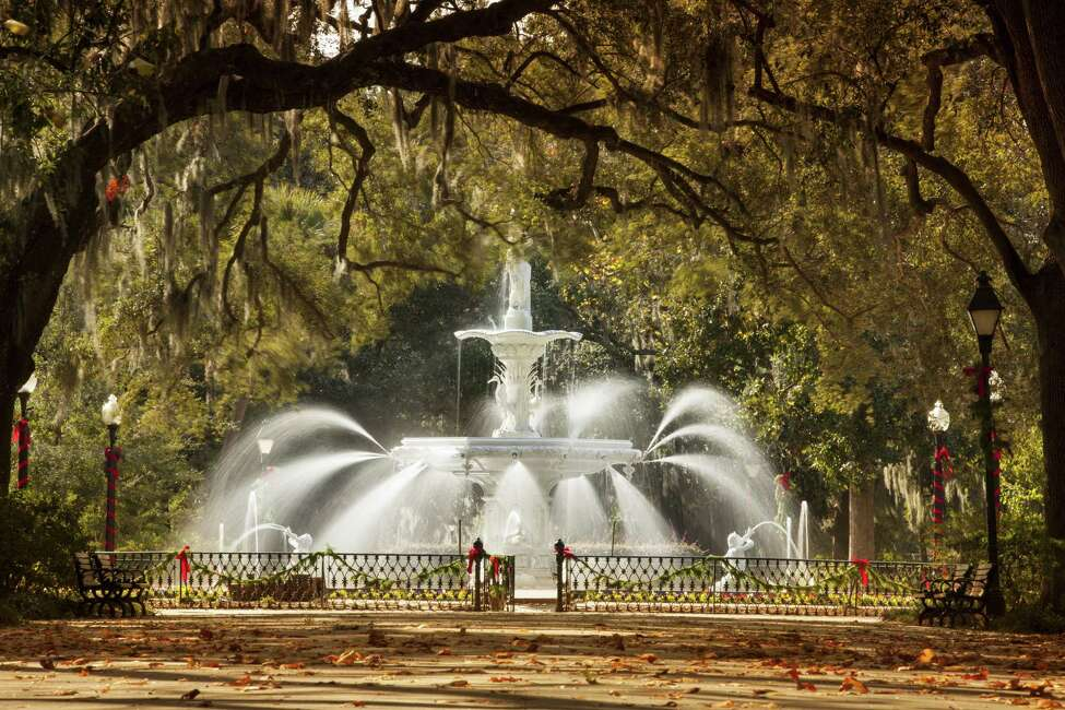15.Savannah, Georgia Average credit score: 638 Average debt: $29,894 Average balance on credit cards: $4,653 What could they be spending all their money on? Petticoats, cotillions and Paula Dean's food.  Source: Badcredit.org