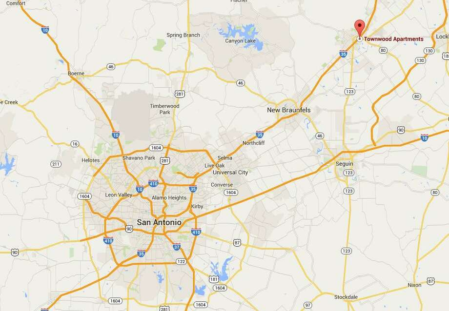 One man died and another was critically wounded in a shooting Monday night in San Marcos. Photo: Google Maps
