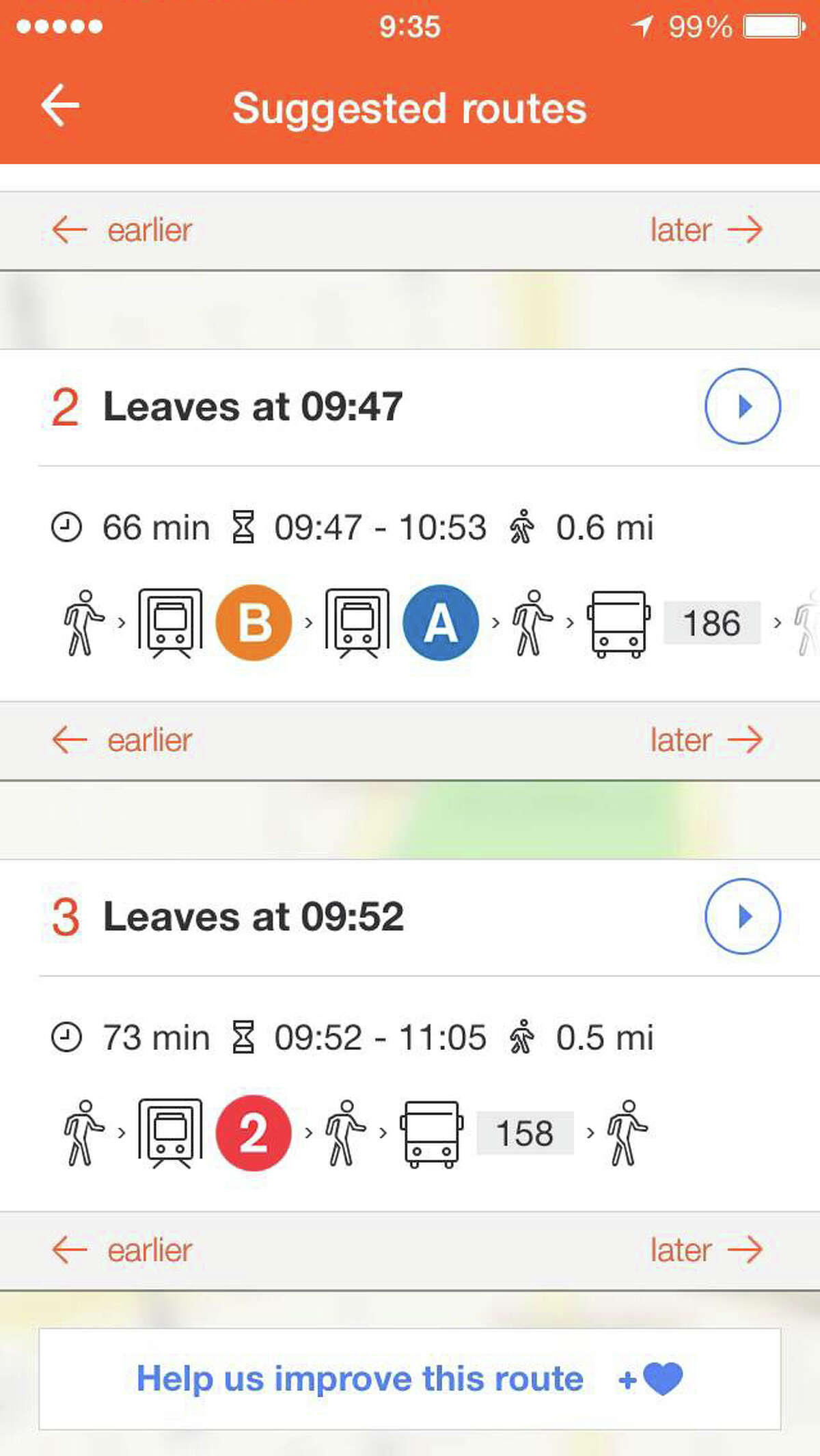 Moovit, which provides crowd-sourced