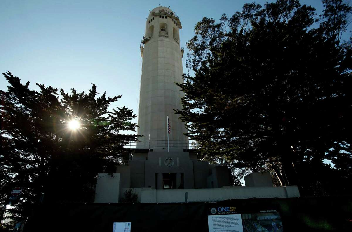 A commercial video shoot required the closure of the Coit Tower and a nearby park on Monday, Jan. 12, 2014, limiting access to visitors and angering a neighborhood advocacy group.