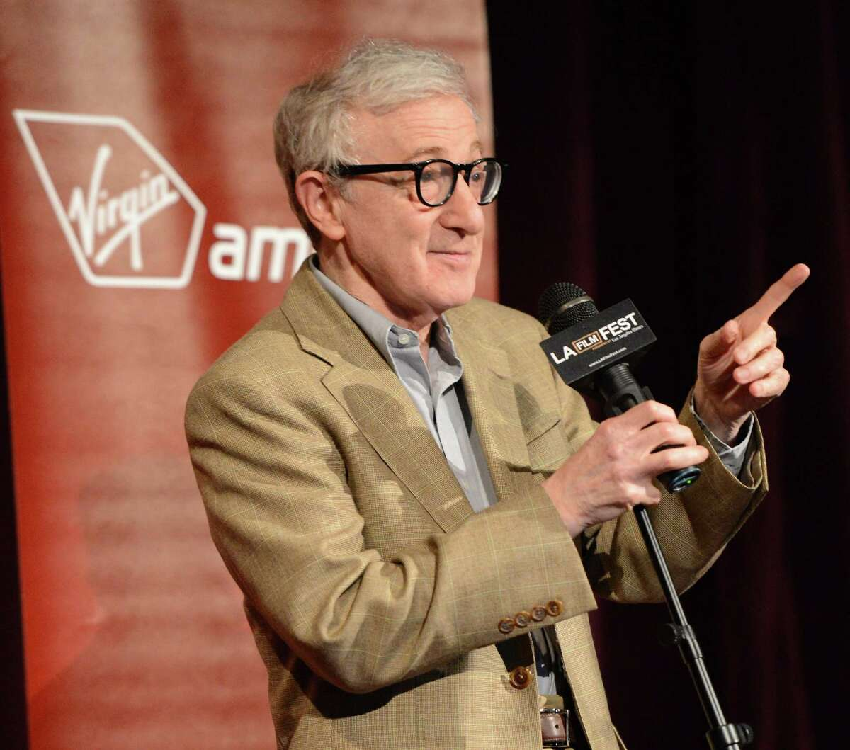 FILE JANUARY 13: It was reported January 13, 2015 that Woody Allen has signed a one-year TV deal with Amazon, airing on Amazon Prime Instant Video. This will be Allens first TV series. LOS ANGELES, CA - JUNE 14: Director/producer Woody Allen attends Film Independent's 2012 Los Angeles Film Festival Premiere of Sony Pictures Classics'