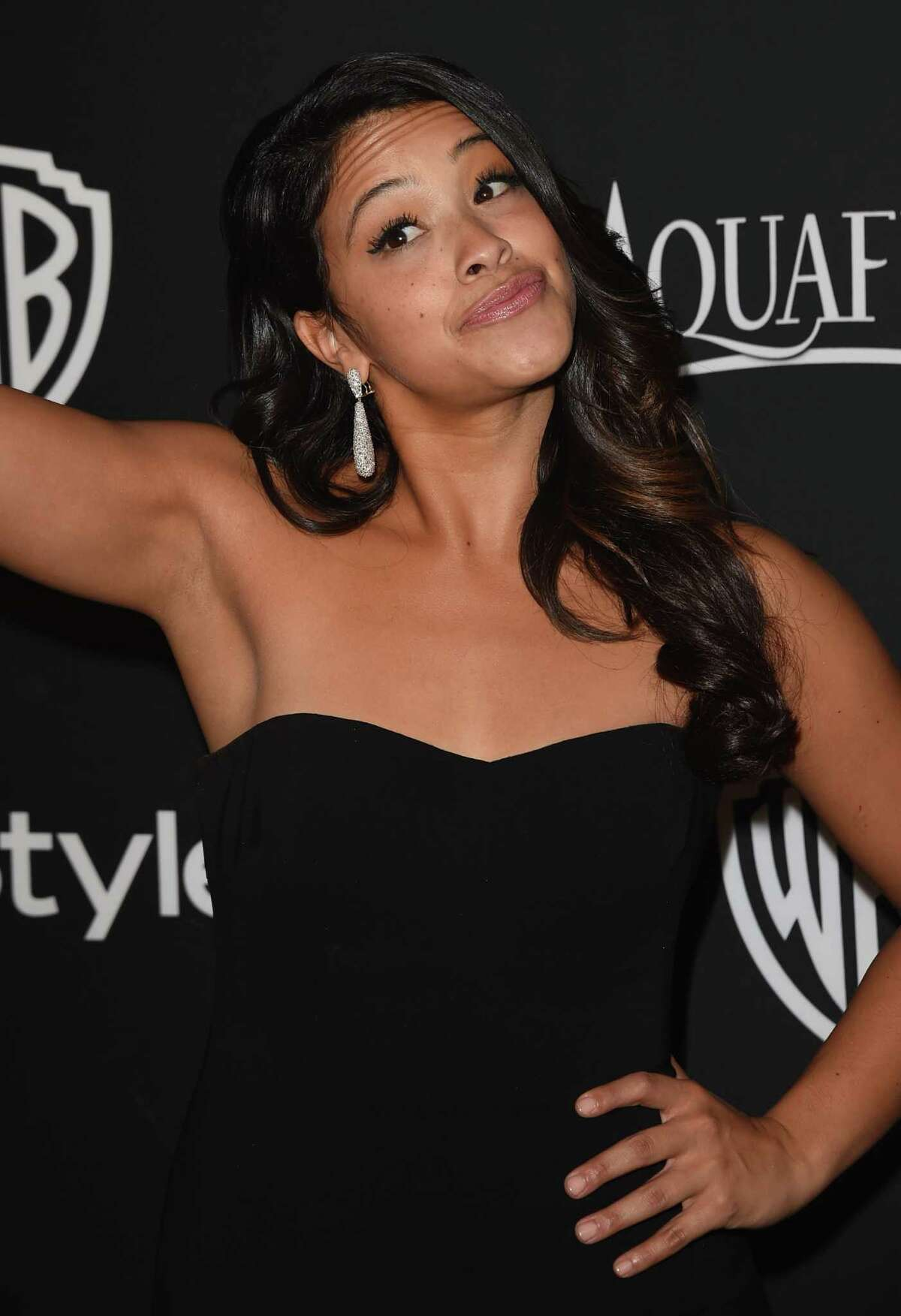 Actress Gina Rodriguez won a Golden Globe award - breaking new ground for Latinos in Hollywood.