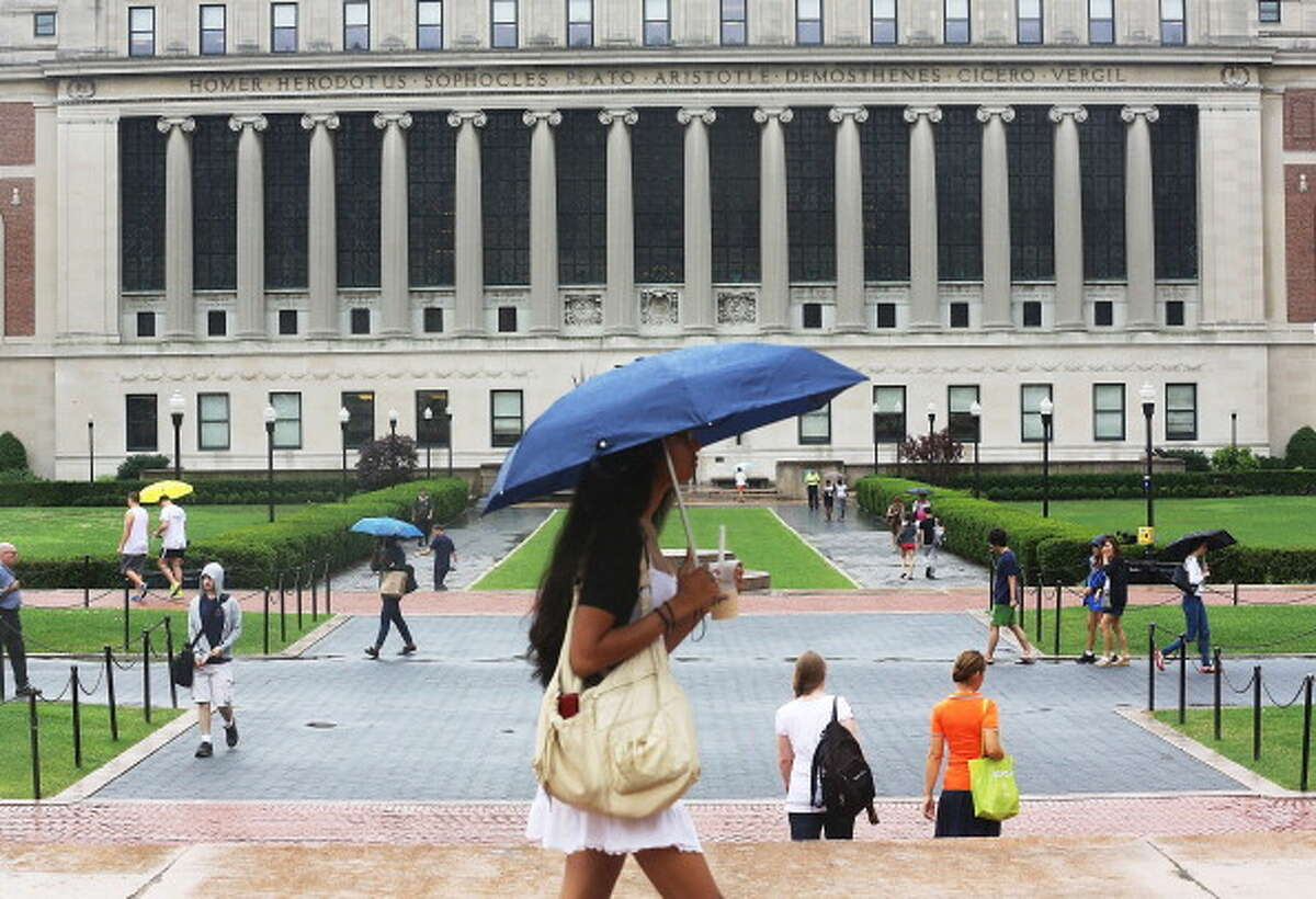 No. 19 - Columbia University New student sign-ups in 2015: 66