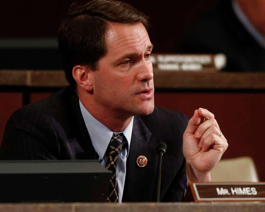 Rep. Jim Himes, D-Conn., speaks at a hearing before the House Permanent Select Committee on Intelligence regarding NSA surveillance in Washington, Tuesday, June 18, 2013. Photo: Charles Dharapak, AP Photo/Charles Dharapak / AP2013Associated Press AP Photo/Charles Dharapak
