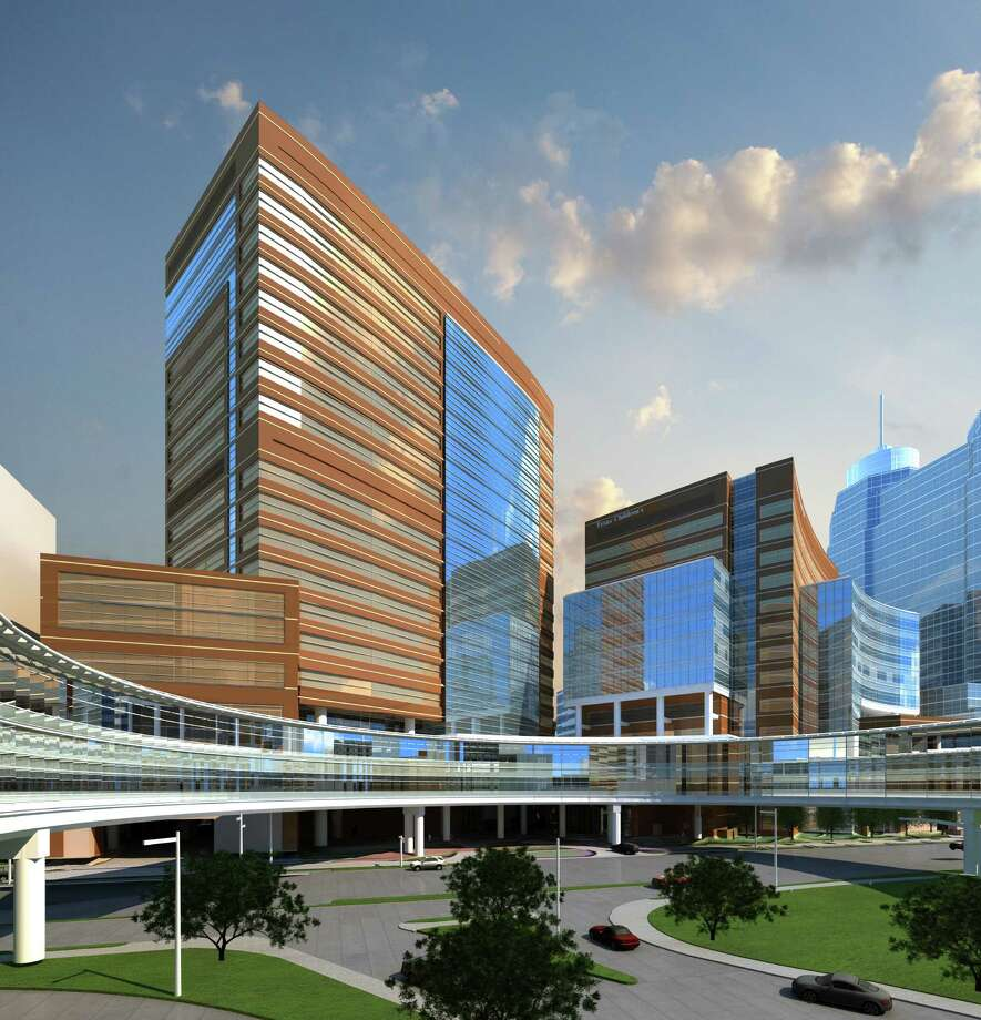 Texas Children's Hospital says its $506 million expansion includes a 19-floor tower. / ONLINE_YES