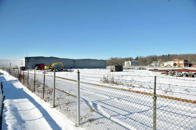 A view of the former Beech Nut plant on Tuesday, Jan. 13, 2015, in Canajoharie, N.Y.  Demolition work has begun at the plant.  (Paul Buckowski / Times Union) Photo: Paul Buckowski / 00030191A
