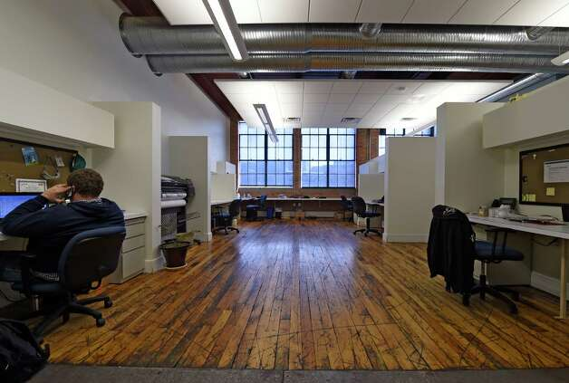 The offices of Giant Solutions Wednesday afternoon, Jan. 7, 2015, in Amsterdam, N.Y. (Skip Dickstein/Times Union) Photo: SKIP DICKSTEIN / 00029904A