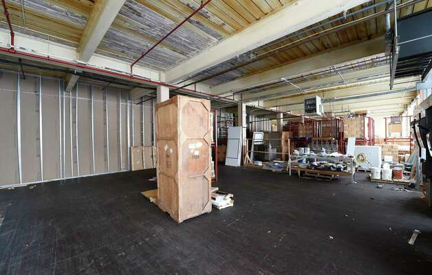 Interior view of some of space under renovation at the Clock Tower building at 37 Prospect Street Wednesday afternoon, Jan. 7, 2015, in Amsterdam, N.Y. (Skip Dickstein/Times Union) Photo: SKIP DICKSTEIN / 00029904A