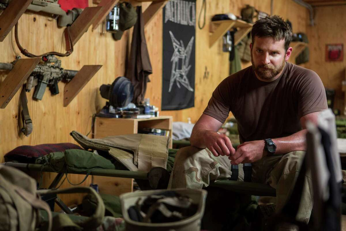 Bradley Cooper portrays the legendary Navy SEAL Chris Kyle, a sniper who has 160 confirmed kills to his name.