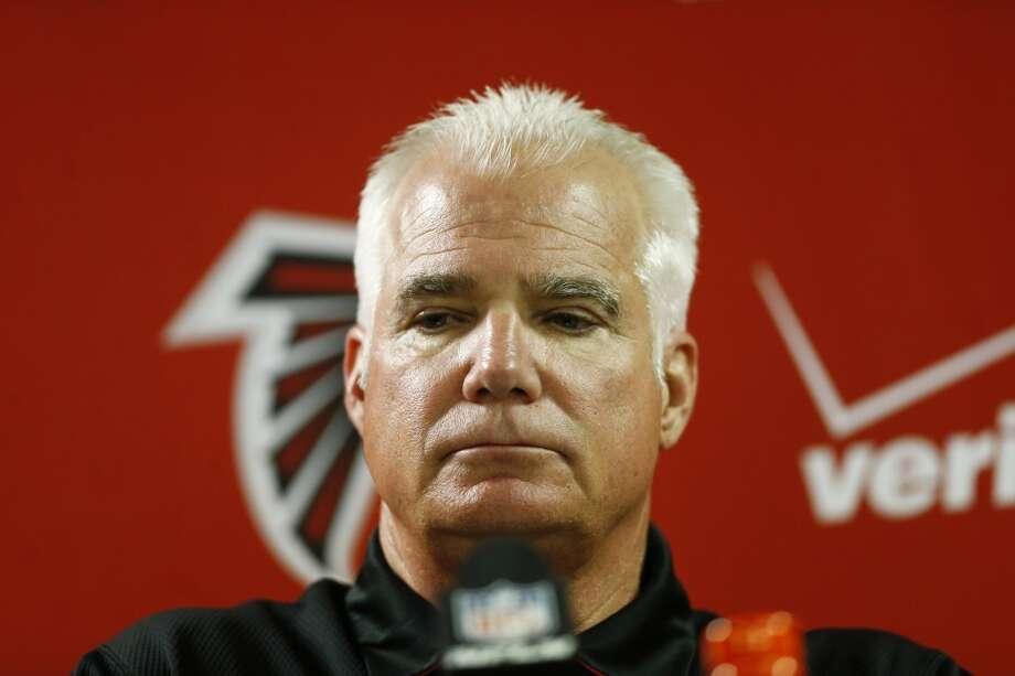 ATLANTA FALCONSCoach: Mike Smith (fired) Record: 66-46 in seven seasons Photo: John Bazemore, Associated Press