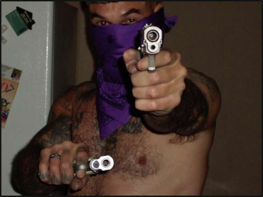 """This image from the ATF's new Facebook page shows former Aryan Brotherhood of Texas General Steven """"Stainless"""" Cooke, who is now serving life for murder"""