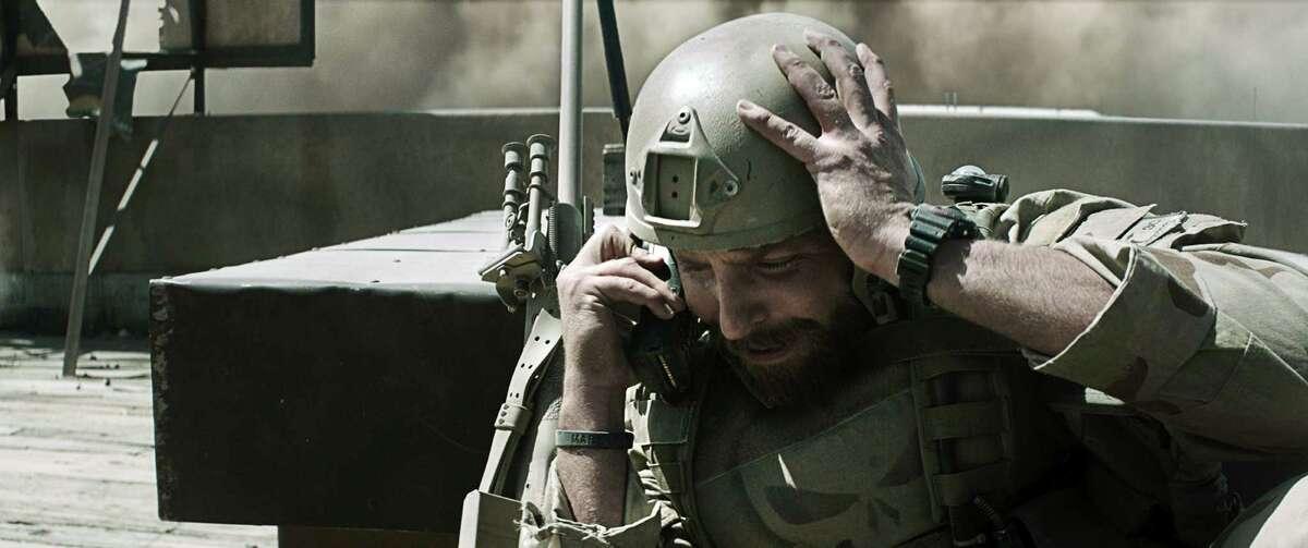 "Bradley Cooper plays TexanChris Kyle in ""American Sniper."""