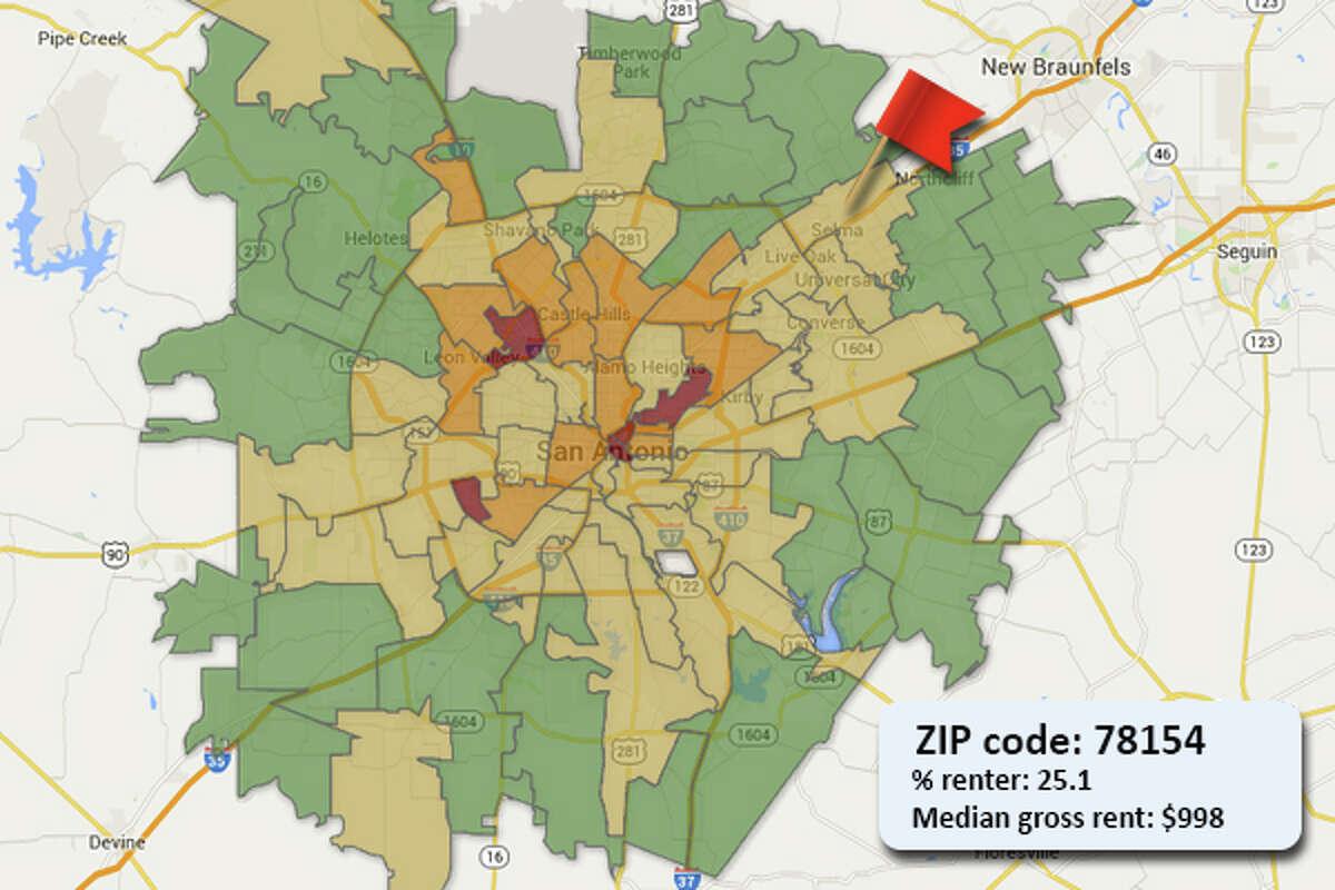ZIP code: 78154
