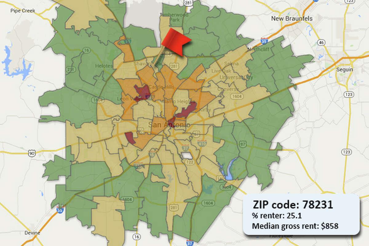 ZIP code: 78231
