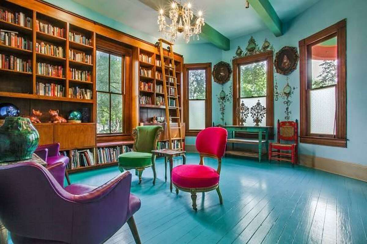 BEFORE: Photos show the 1903-era home that Sandra Cisneros used to live in before it was renovated.