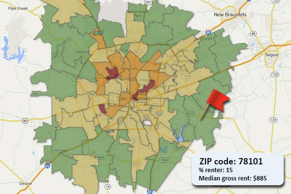 ZIP code: 78101