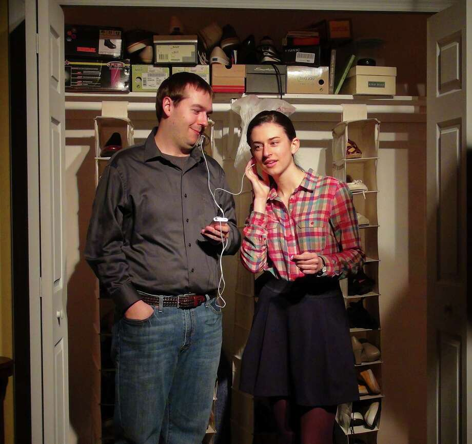 "(l to r) Jacob Luria, Christine Doidge in ""Tigers Be Still"" Photo credit: Kevin Gardner"