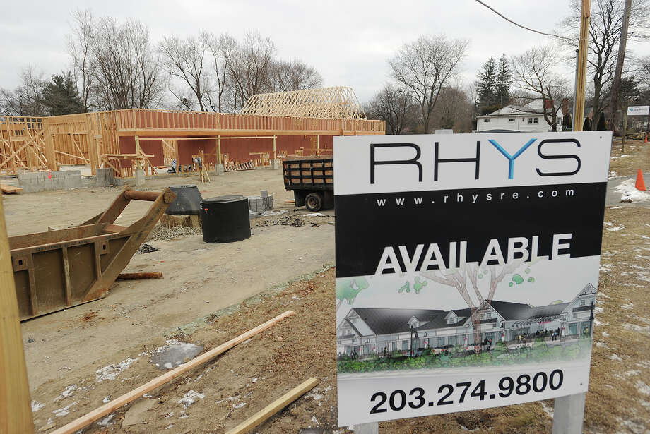 A new commercial complex is under construction at 4244 Madison Avenue in Trumbull, Conn. on Wednesday, January 14, 2015. Photo: Brian A. Pounds / Connecticut Post