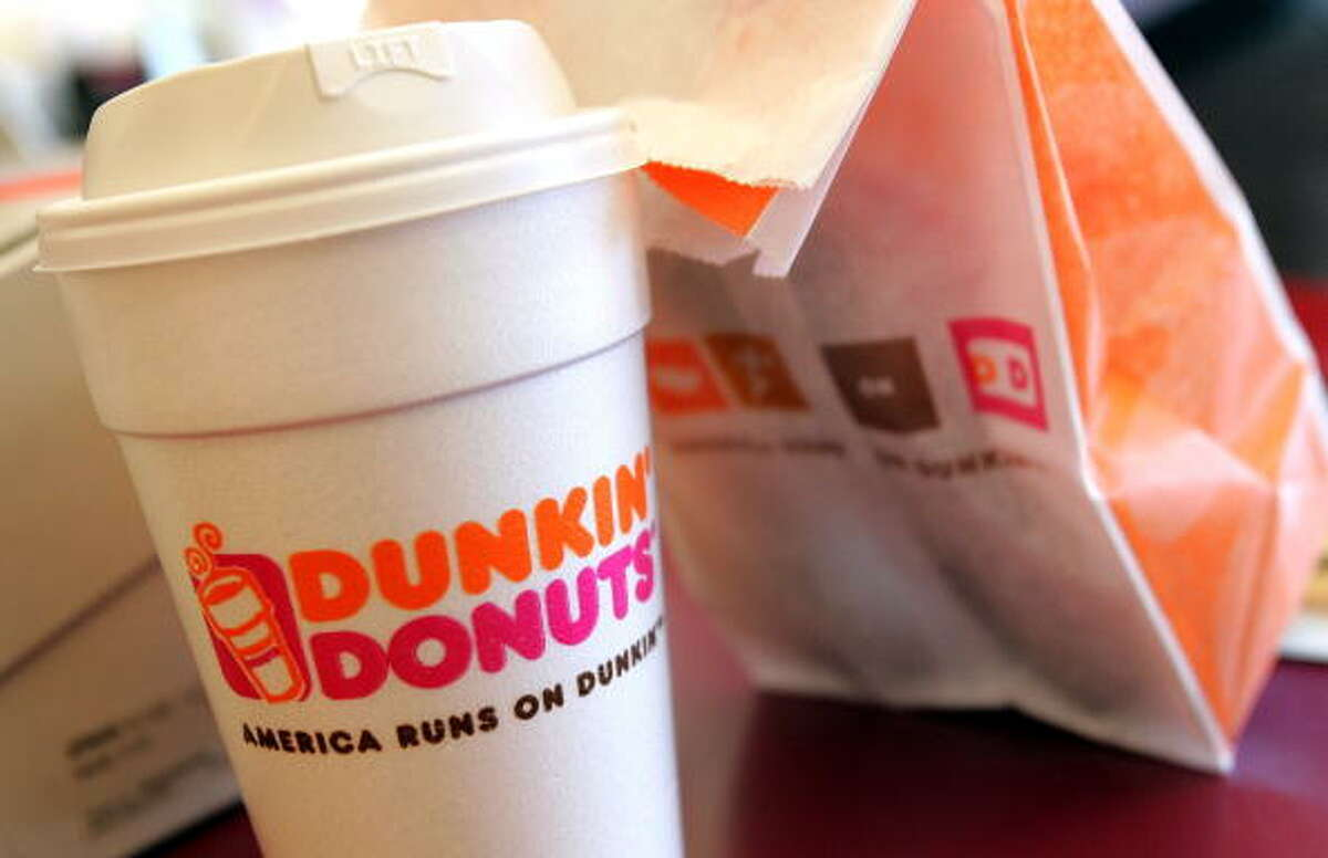 """Dunkin Donuts. Customers can grab a free medium hot or iced coffee (with any purchase) as part of the celebration. Why change the holiday's name? Because, """"Dunkin' equals coffee and coffee equals Dunkin',"""" says a Dunkin' press release. Dunkin' lovers can buy fan gear and Dunkin' day merchandise online starting Sept. 24. There will also be a sweepstake on Instagram and Twitter for a chance to win a Dunkin' care package."""