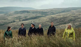 Belle and Sebastian — sad and vulnerable songs with a glittery surface.