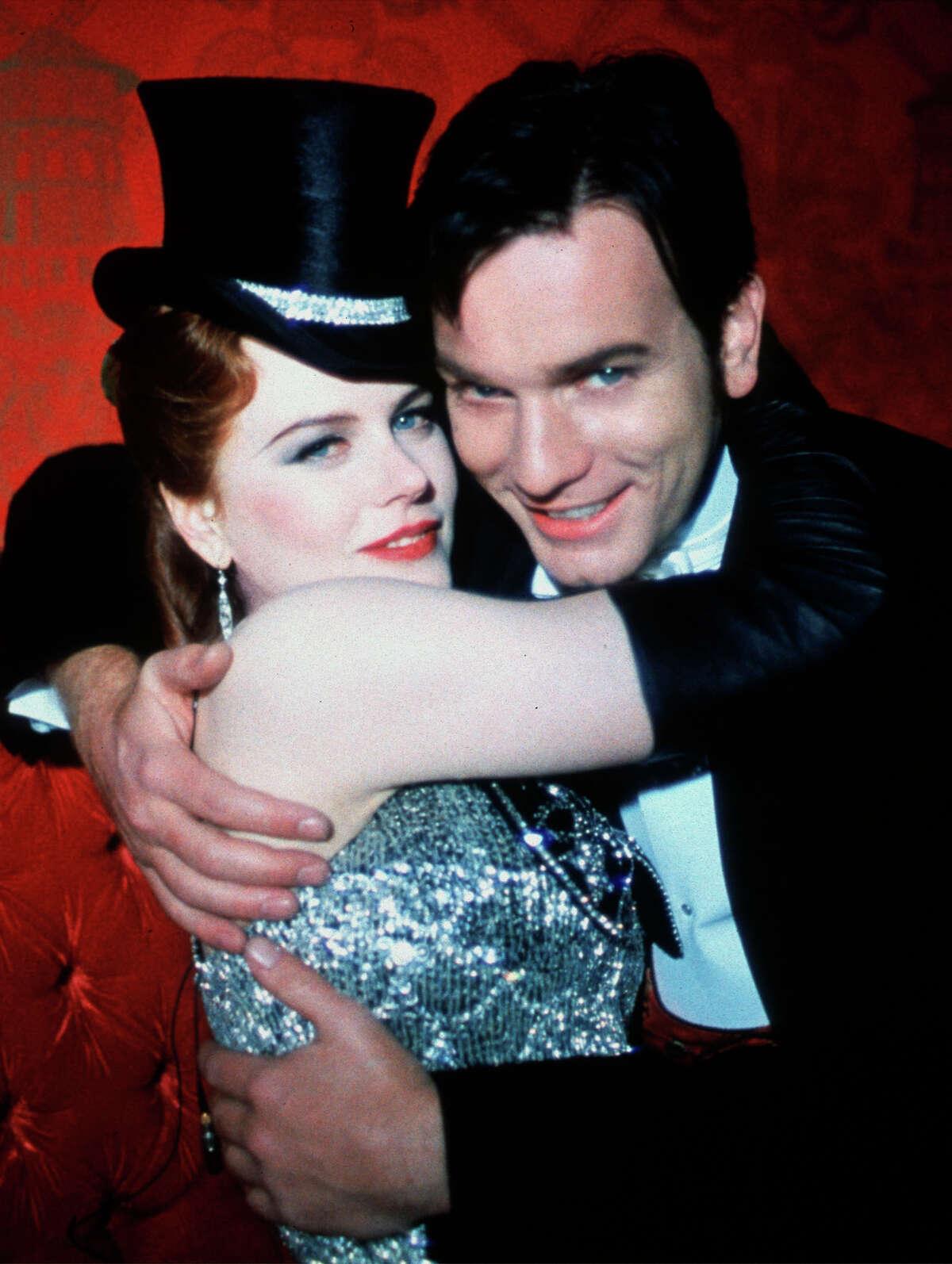 "Nicole Kidman and Ewan McGregor in ""Moulin Rouge."""