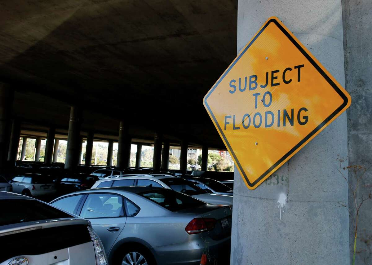 Caltrans officials say there is little they can do to get at the source of the flooding at the Manzanita lot, which is expected to get worse as sea levels rise.