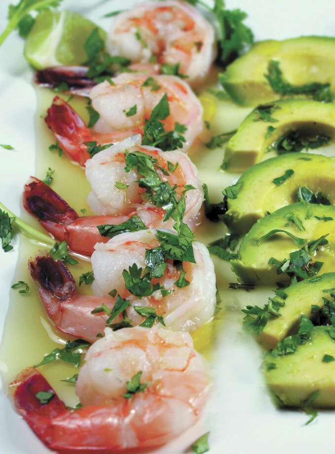 """Aguachile Ceviche, one of the seafood recipes in """"Naturally Healthy Mexican Cooking: Authentic Recipes for Dieters, Diabetics, and All Food Lovers"""" (University of Texas Press, $24.95) by Jim Peyton"""
